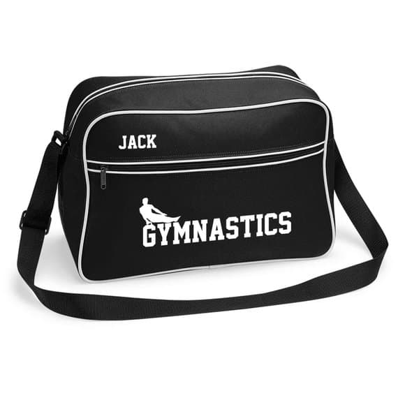 2b6bae810e53 Personalised Retro Sports Gymnastics Bag - Boys