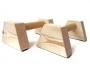 Mini Wooden Parallettes